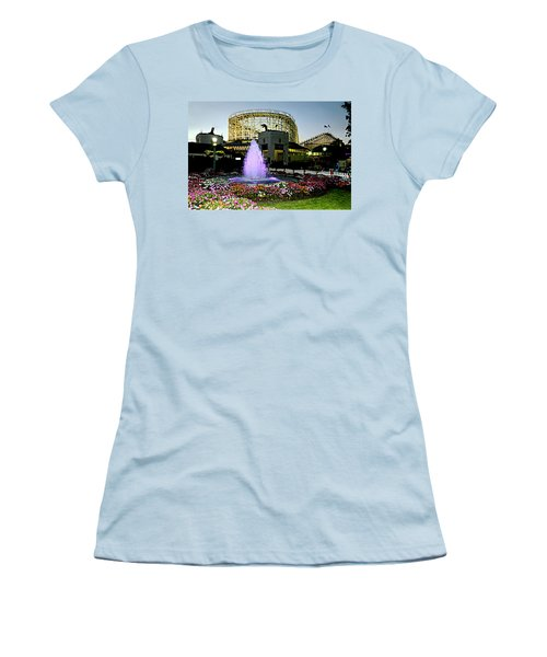 The Pink Fountain Women's T-Shirt (Athletic Fit)