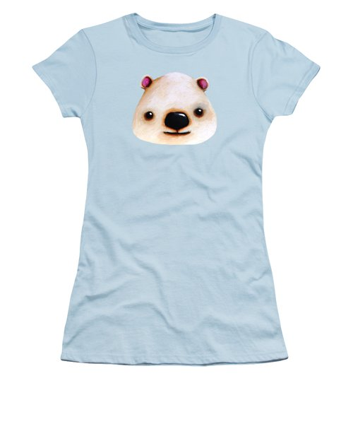 The Polar Bear Women's T-Shirt (Junior Cut) by Lucia Stewart