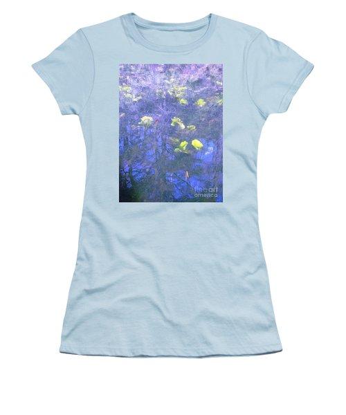The Pond 1 Women's T-Shirt (Junior Cut) by Melissa Stoudt
