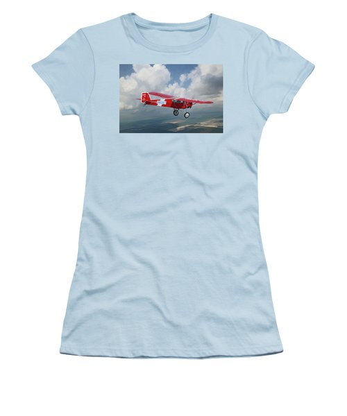 The Red Red Robin Women's T-Shirt (Athletic Fit)