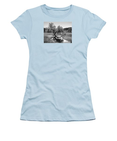 Eye Of The Stream Women's T-Shirt (Athletic Fit)