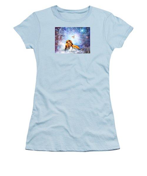 The Resting Place Women's T-Shirt (Junior Cut) by Dolores Develde