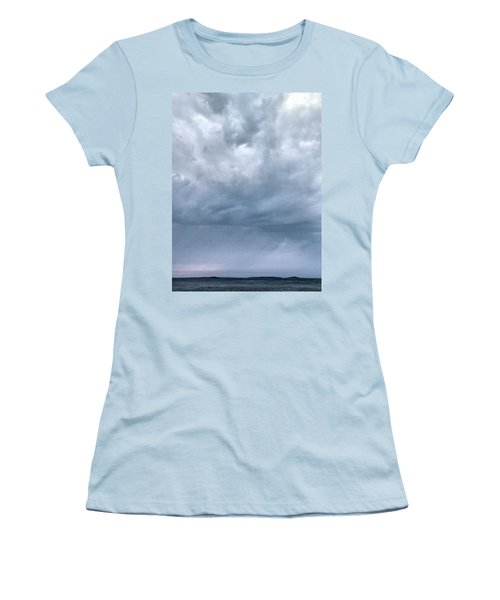 Women's T-Shirt (Junior Cut) featuring the photograph The Rising Storm by Jouko Lehto