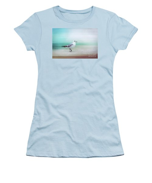 The Seagull Strut Women's T-Shirt (Athletic Fit)