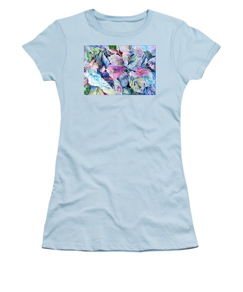 The Touch Of Silence Women's T-Shirt (Junior Cut) by Mindy Newman