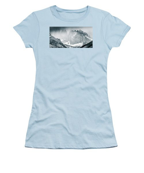 The Towers Women's T-Shirt (Junior Cut) by Andrew Matwijec