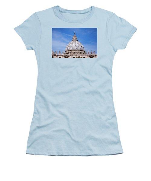 The Vatican Women's T-Shirt (Junior Cut) by Nick  Shirghio