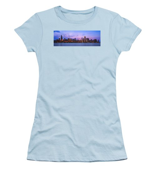 The Windy City Women's T-Shirt (Junior Cut) by Scott Norris