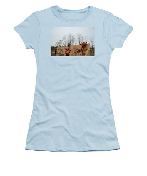 They Call It The Berlin Walls Women's T-Shirt (Athletic Fit)