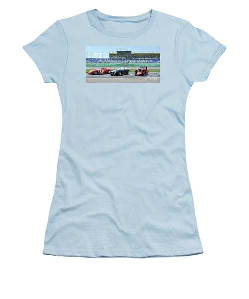 Three Women's T-Shirt (Athletic Fit)