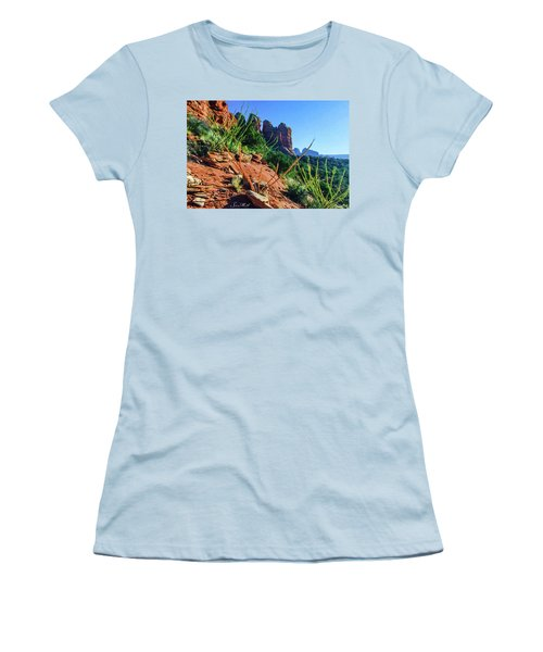 Thunder Mountain 07-006 Women's T-Shirt (Junior Cut) by Scott McAllister