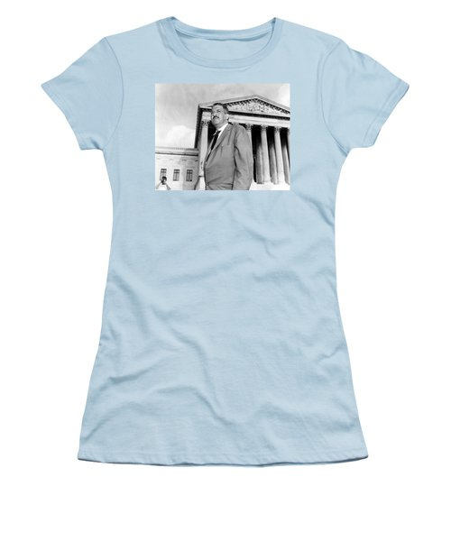 Thurgood Marshall Women's T-Shirt (Athletic Fit)
