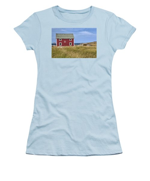 Tilting Women's T-Shirt (Junior Cut) by Eunice Gibb