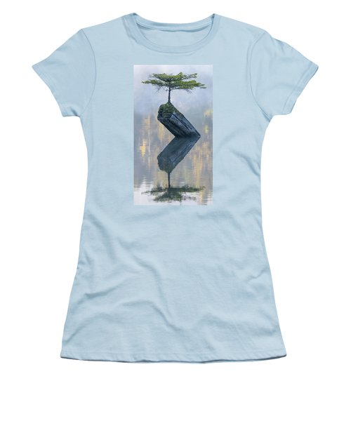 Timeless Tranquility Women's T-Shirt (Junior Cut) by Keith Boone