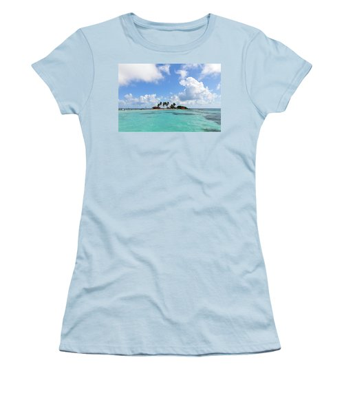 Tiny Island Women's T-Shirt (Athletic Fit)