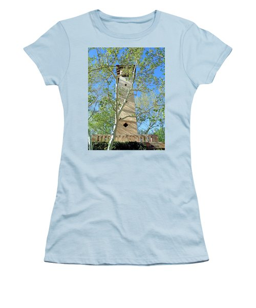 Tlaquepaque Tower Women's T-Shirt (Athletic Fit)
