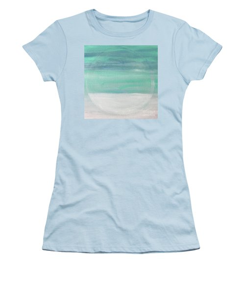 To The Moon Women's T-Shirt (Junior Cut) by Kim Nelson