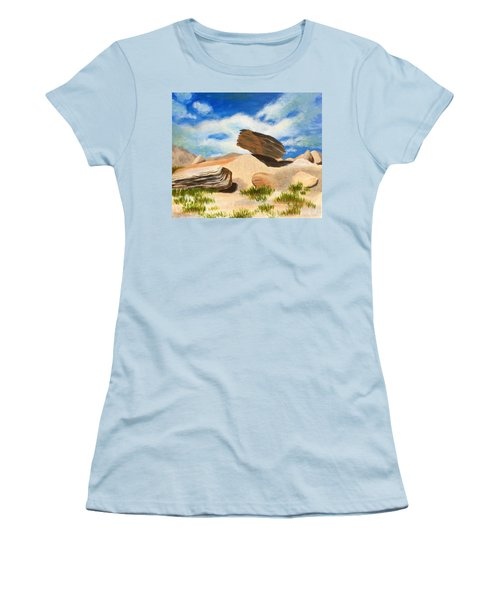 Toadstool Park Nebraska Women's T-Shirt (Athletic Fit)