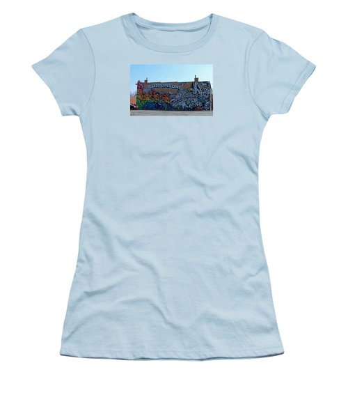Women's T-Shirt (Junior Cut) featuring the photograph Toledo Loves Love by Michiale Schneider
