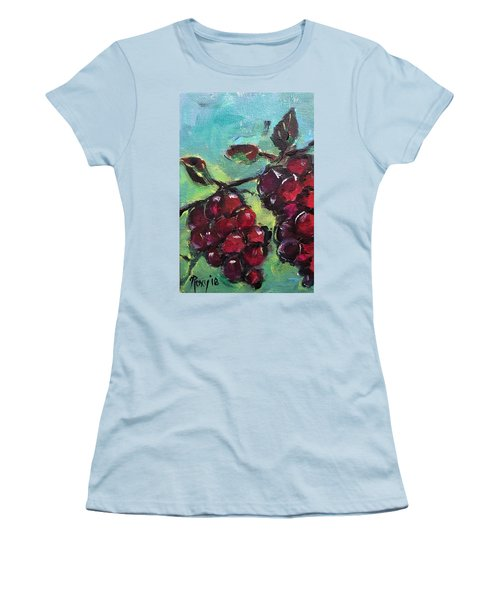 Tomorrows Pinot Noir Women's T-Shirt (Athletic Fit)