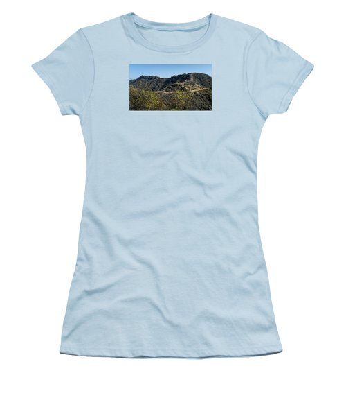 Topanga Canyon Trail Women's T-Shirt (Athletic Fit)