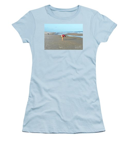 Topsail Island Beach Women's T-Shirt (Athletic Fit)