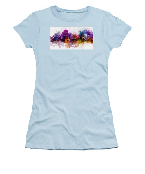 Toronto Canada Skyline Women's T-Shirt (Athletic Fit)