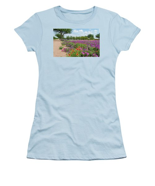 Trailing Beauty Women's T-Shirt (Athletic Fit)