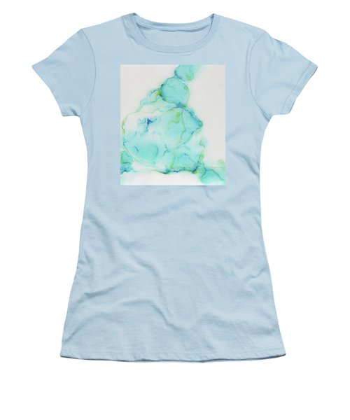 Tranquil And Soft Sky Women's T-Shirt (Athletic Fit)