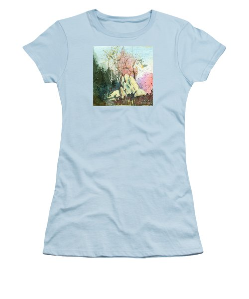 Triptych Panel 1 Women's T-Shirt (Athletic Fit)