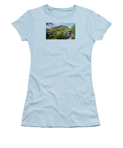 Tropical Atmosphere In St Augustine Women's T-Shirt (Athletic Fit)