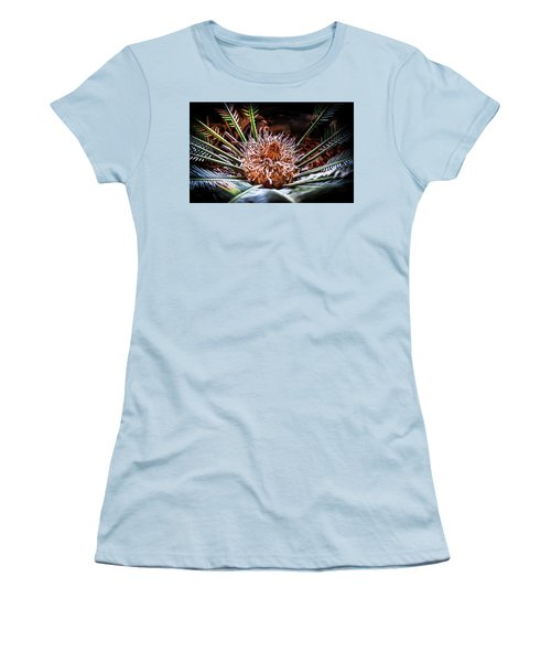 Tropical Moments Women's T-Shirt (Junior Cut) by Karen Wiles
