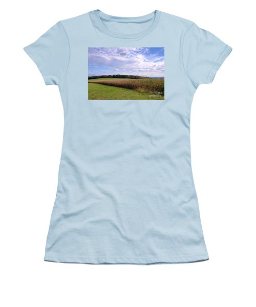 Trusting Harvest Women's T-Shirt (Athletic Fit)