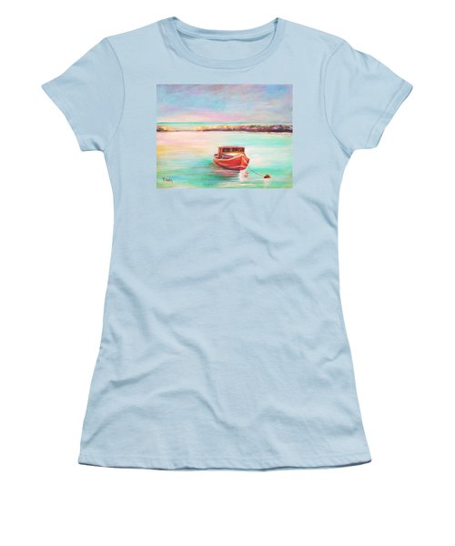 Tucked In Women's T-Shirt (Junior Cut) by Patricia Piffath