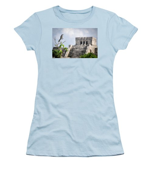 Tulum Mayan Ruins Women's T-Shirt (Athletic Fit)