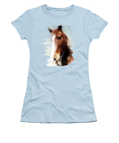 Tumbleweed Sideways Glance Women's T-Shirt (Athletic Fit)