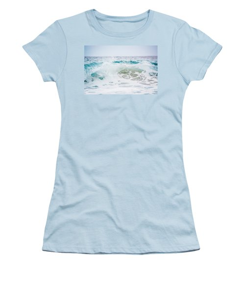 Turquoise Beauty Women's T-Shirt (Junior Cut) by Shelby Young