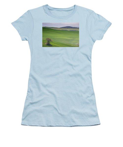Tuscany Landscape Women's T-Shirt (Junior Cut) by Ana Mireles