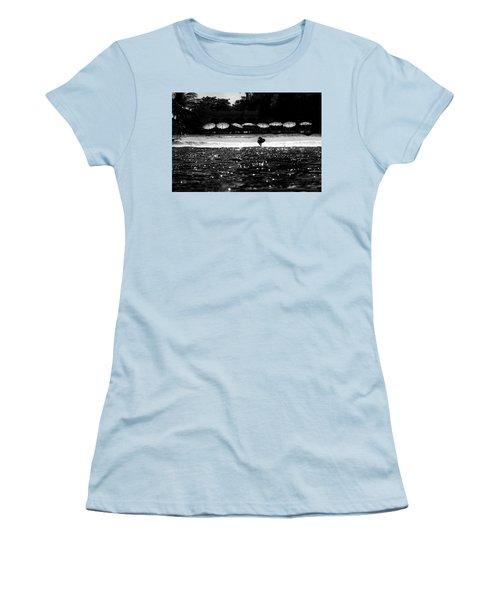 Umbrellas Women's T-Shirt (Athletic Fit)