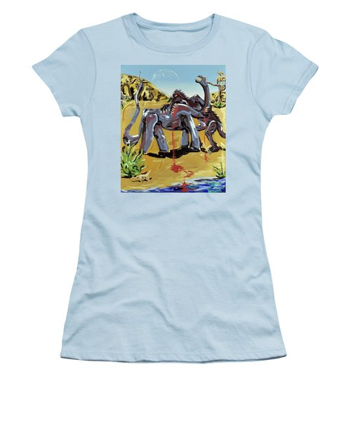 Under The Sun Women's T-Shirt (Junior Cut) by Ryan Demaree