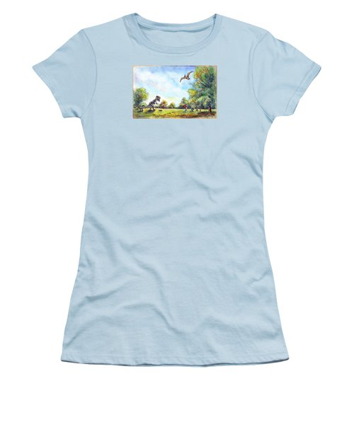 Uninvited Picnic Guests Women's T-Shirt (Athletic Fit)