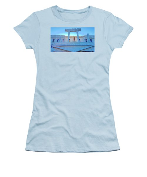 Upside Down White House Women's T-Shirt (Athletic Fit)