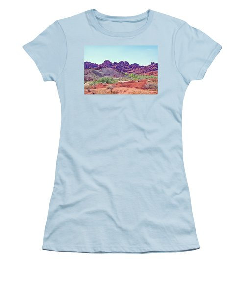 Valley Of Fire State Park, Nevada Women's T-Shirt (Athletic Fit)