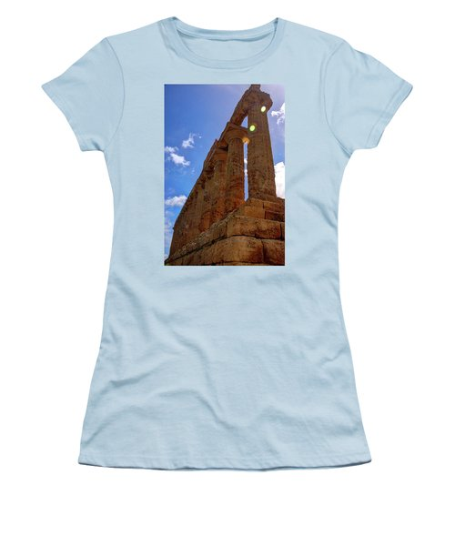 Valley Of The Temples Iv Women's T-Shirt (Junior Cut) by Patrick Boening