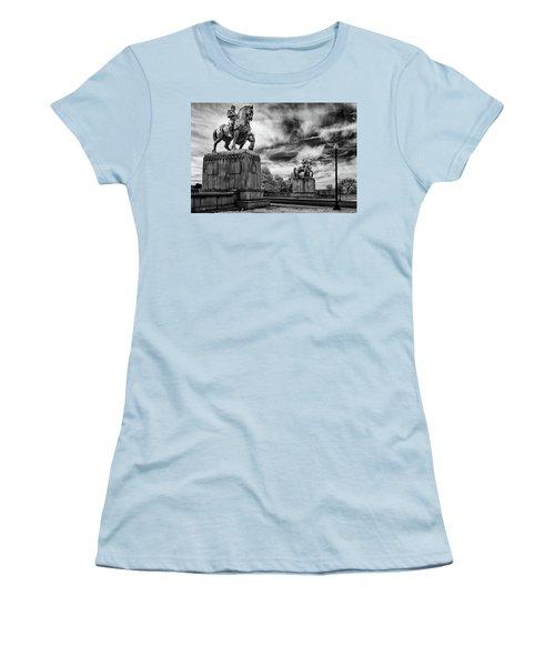 Valor Women's T-Shirt (Junior Cut) by Paul Seymour