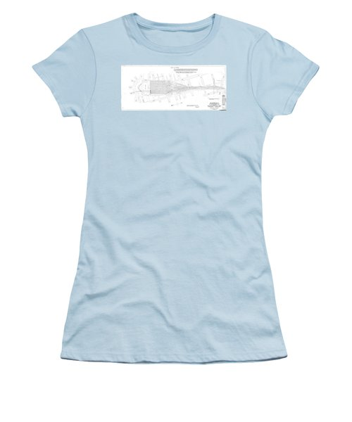 Valuation Map Washington Union Station Women's T-Shirt (Athletic Fit)