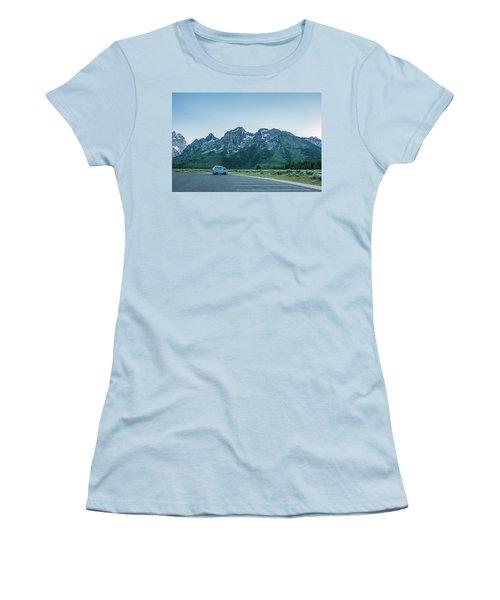 Van Life Women's T-Shirt (Junior Cut) by Alpha Wanderlust