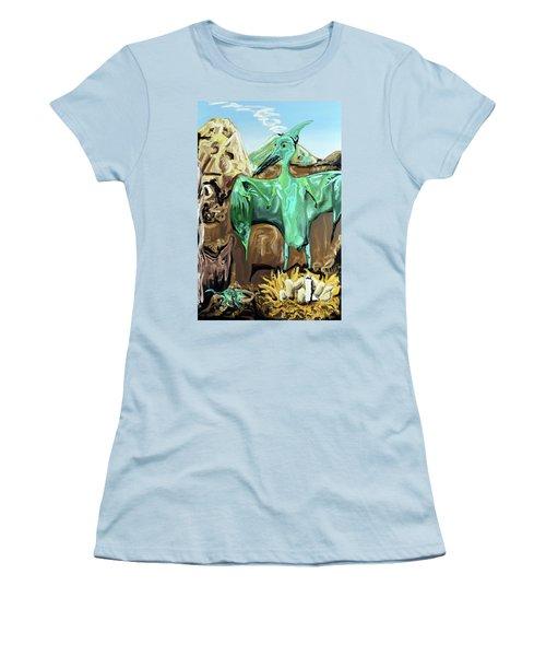 Vega Women's T-Shirt (Junior Cut) by Ryan Demaree