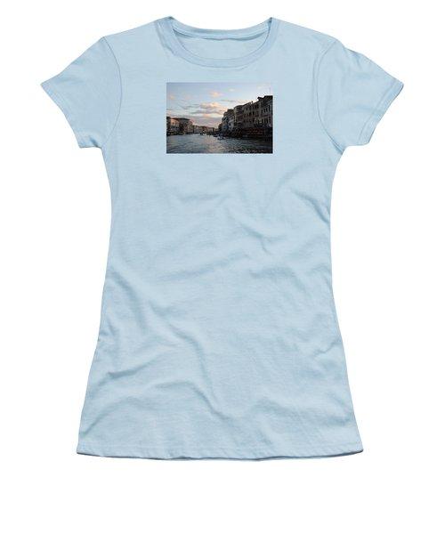 Venice Sunset Women's T-Shirt (Junior Cut) by Robert Moss