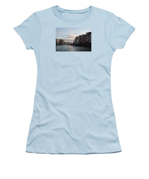 Venice Sunset Women's T-Shirt (Athletic Fit)